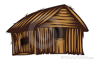 Poor house . Bored clipart home clipart