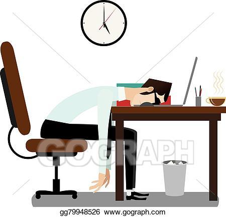Break office clerk