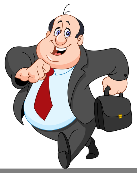 Boss clipart. Mean free images at