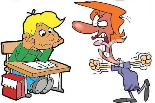 Free cliparts download clip. Yelling clipart bad teacher