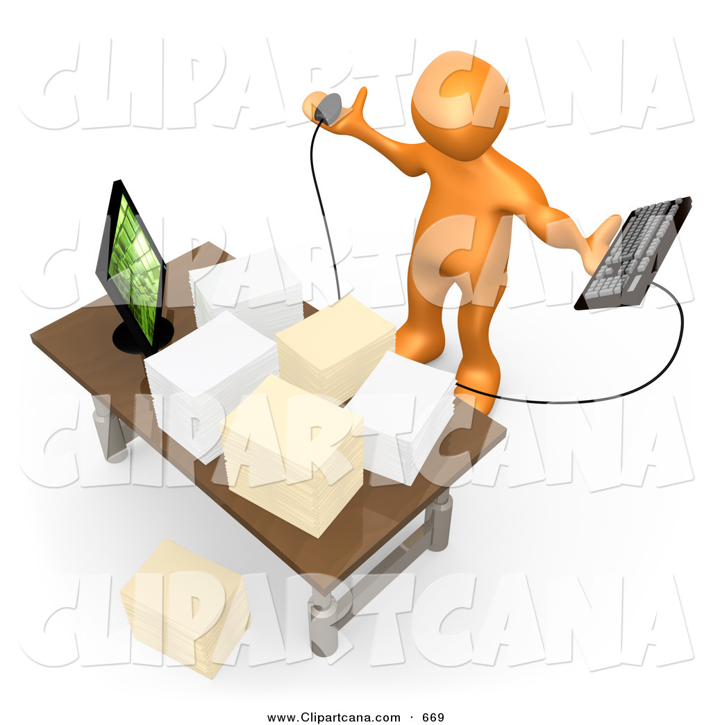 Boss clipart computer. Royalty free stock designs