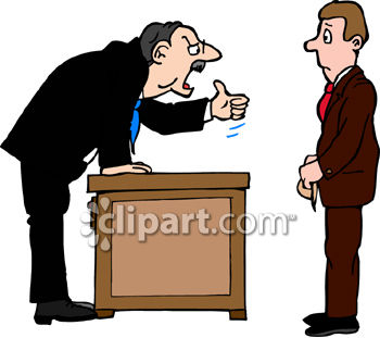 collection of person. Boss clipart demanding