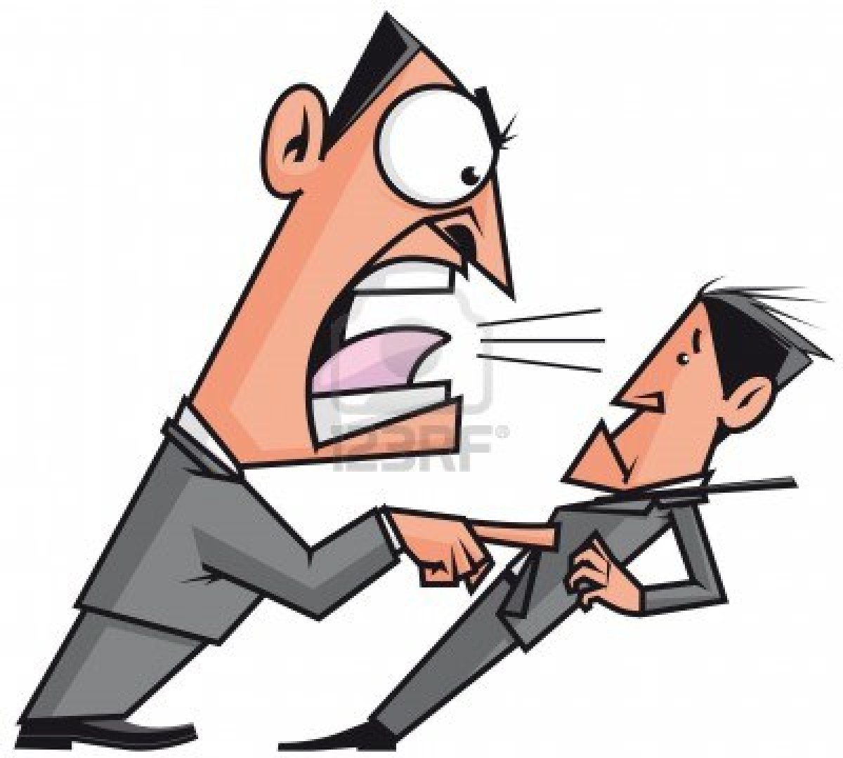Boss clipart demanding. Things you should avoid