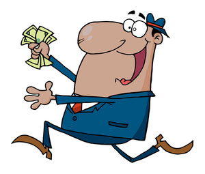 Boss clipart greedy. Money image worker who