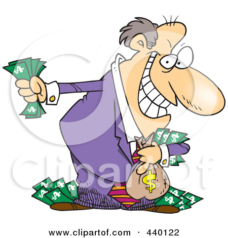 . Boss clipart greedy