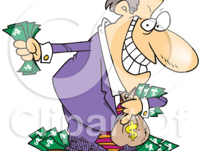 Cliparts x making the. Boss clipart greedy