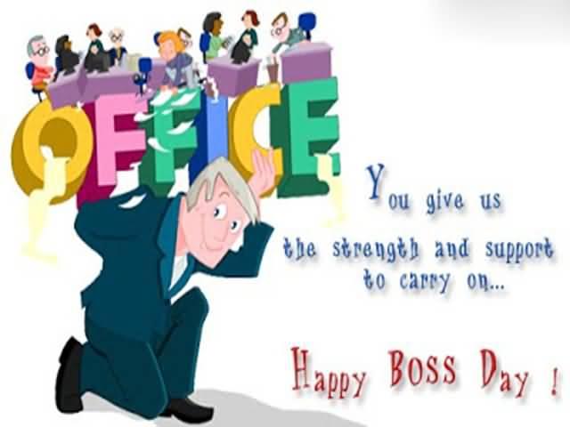 Boss happy boss