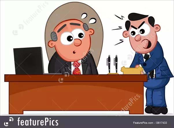 Boss clipart mean person. Is it correct to