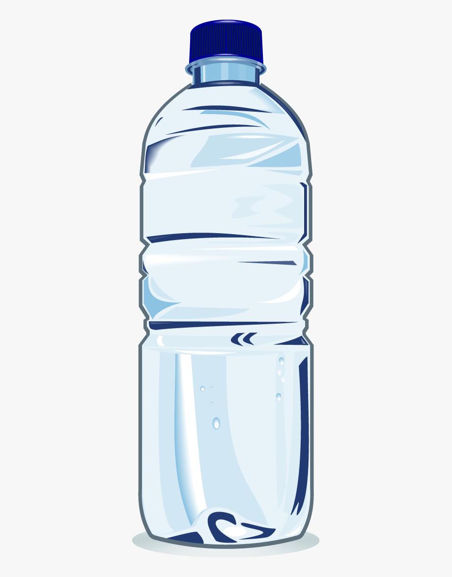 Bottle clipart. Water clip art plastic
