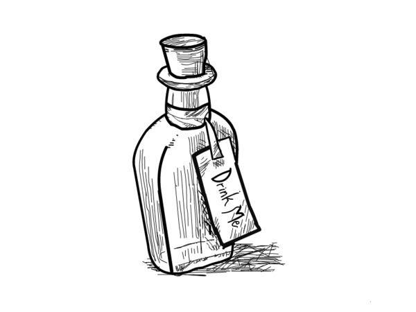 Bottle clipart alice in wonderland. Cartoon drawing at getdrawings