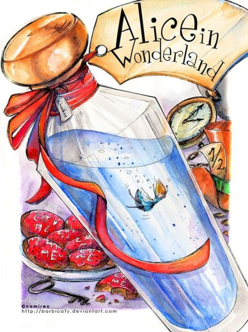 Drink me tumblr . Bottle clipart alice in wonderland