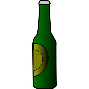 Beer cartoon . Bottle clipart animated