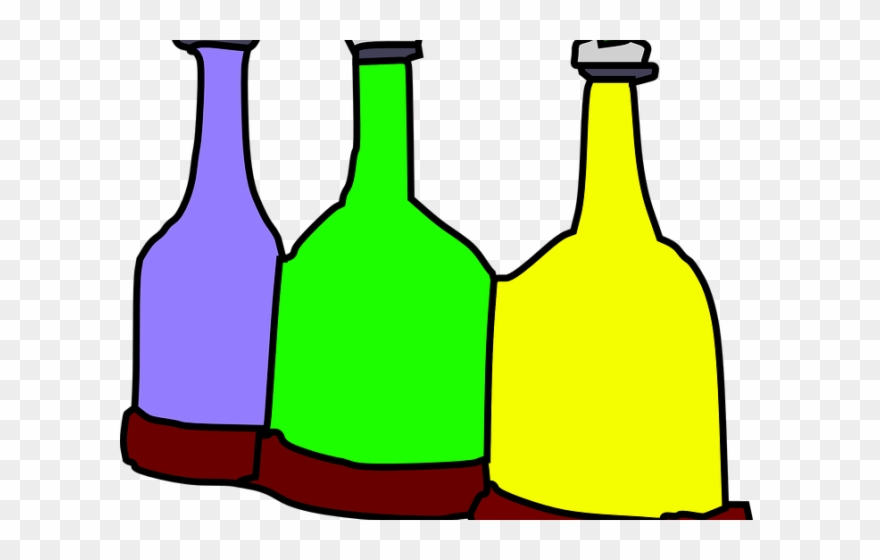 Bottle clipart animated. Water cartoon glass bottles