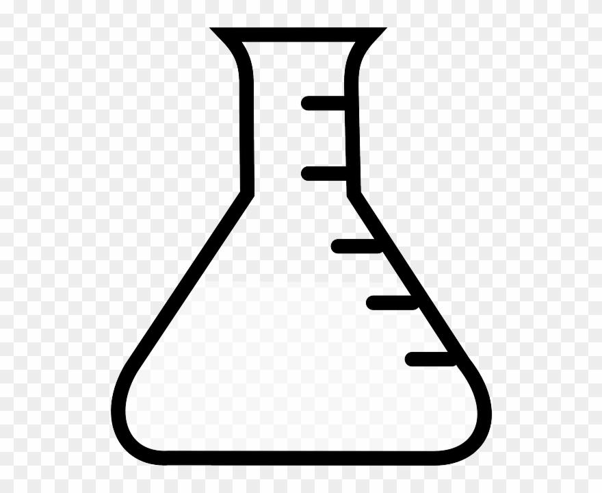 Test tube empty panda. Chemistry clipart bottle