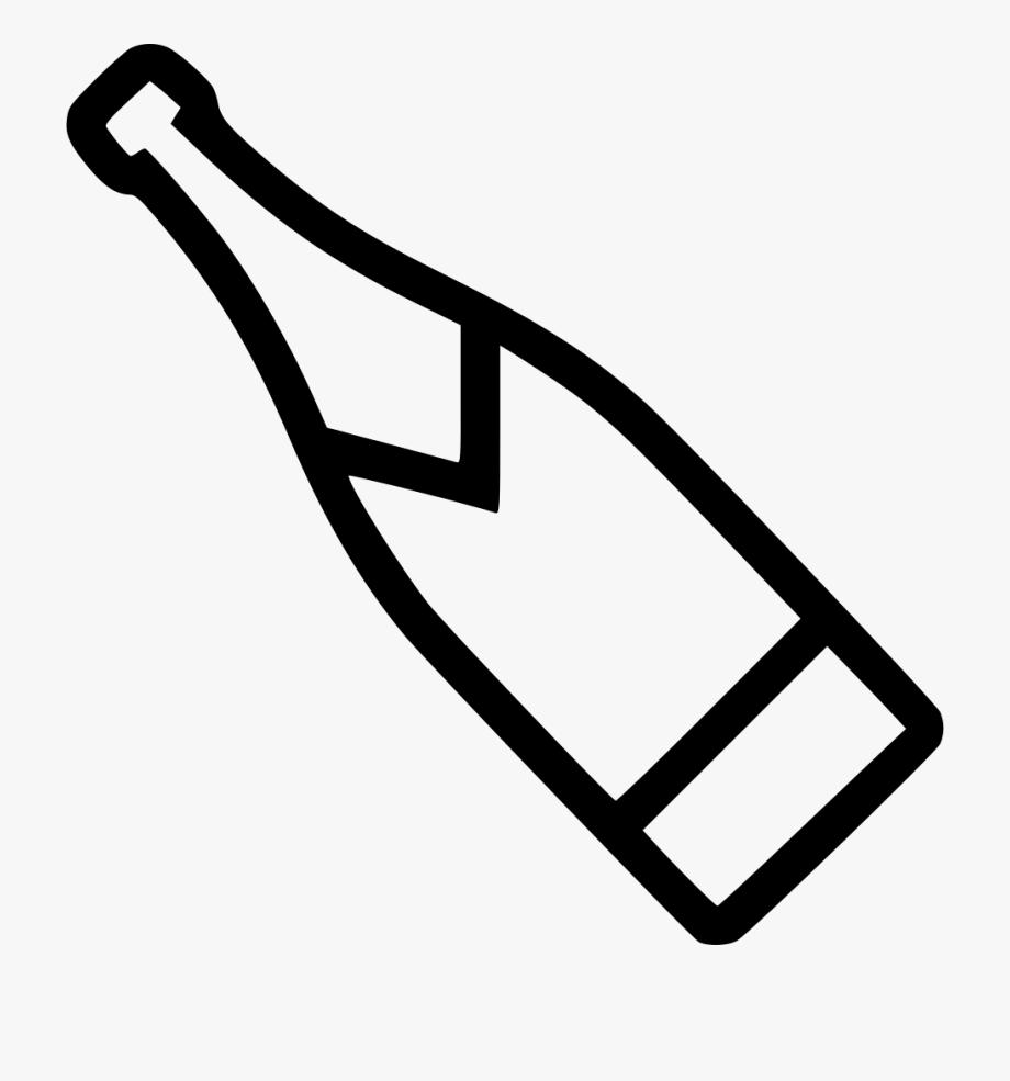 Champaign clipart clip art. Black and white champagne