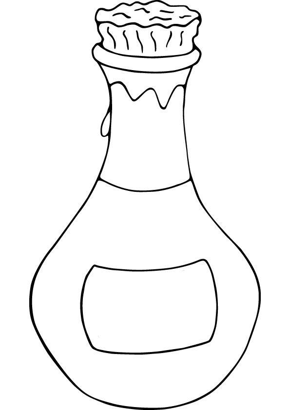 Bottle page pics pinterest. Perfume clipart coloring