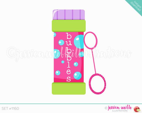 bubbles clipart cute