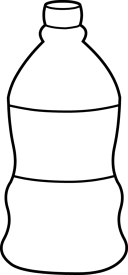 collection of water. Bottle clipart drawing