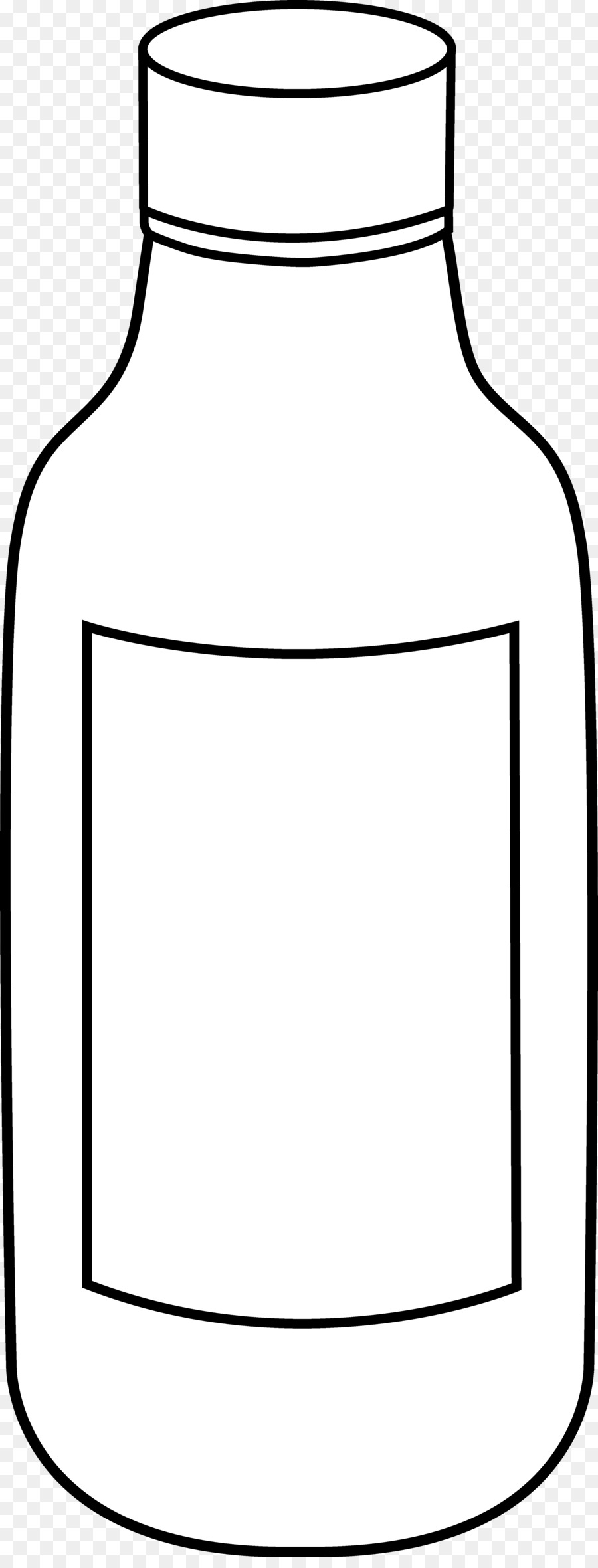 Line art black and. Bottle clipart drawing
