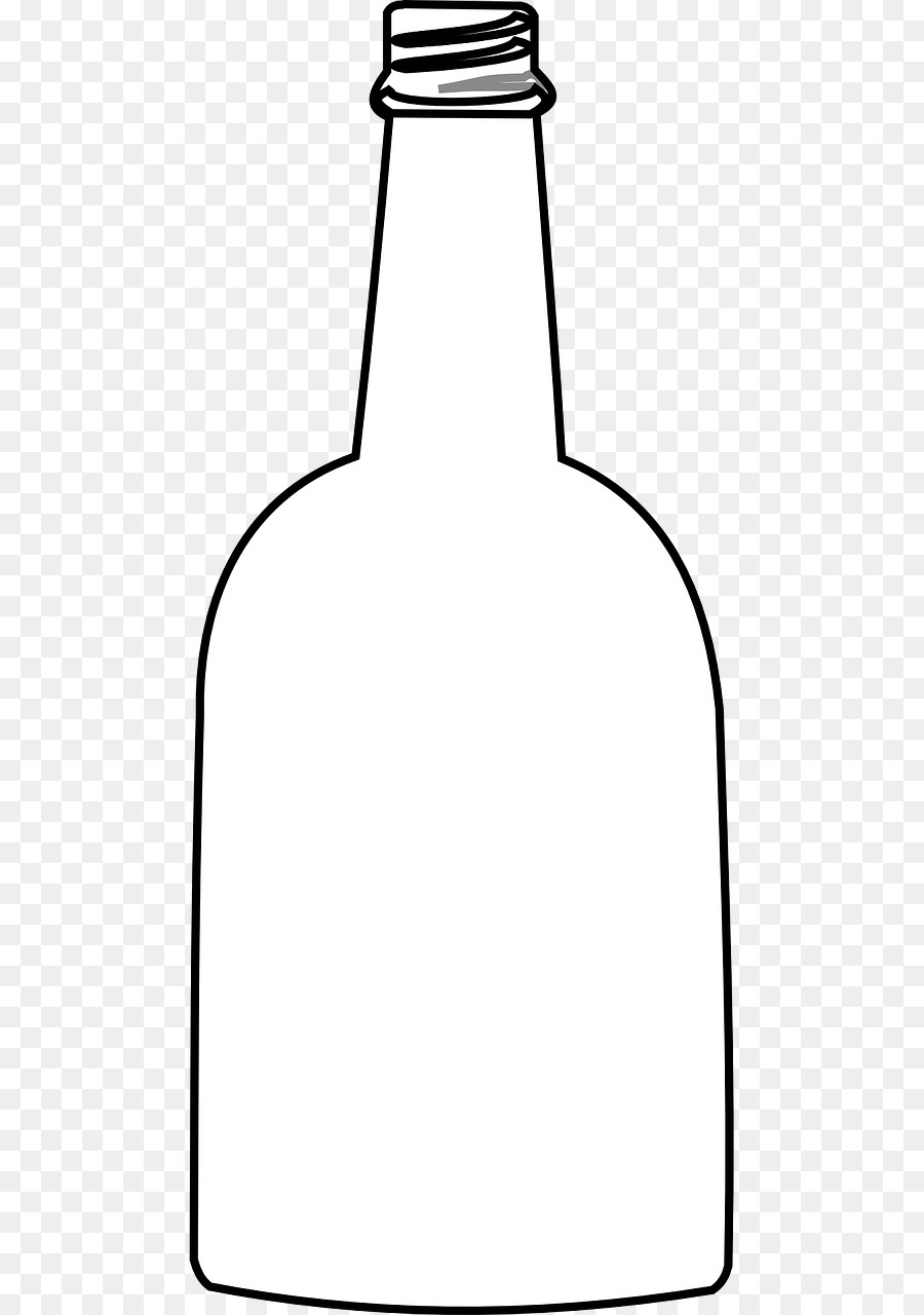Water drawing illustration . Bottle clipart empty bottle