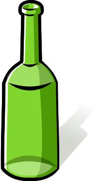 . Bottle clipart empty bottle