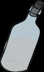 Bottle clipart glass bottle. Black and white clip