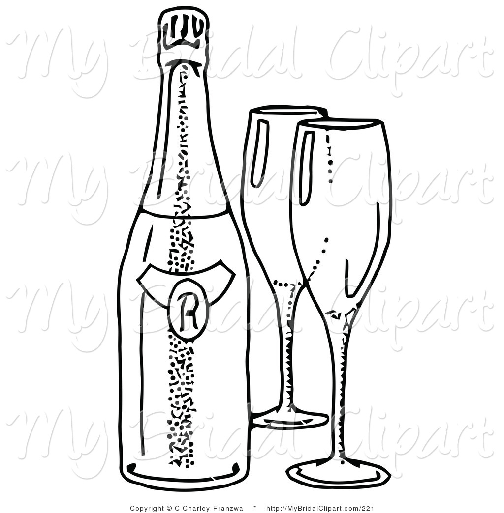 Bottle clipart line drawing. Beer at getdrawings com