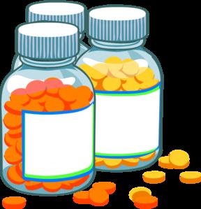 Blank bottles clip art. Medicine clipart
