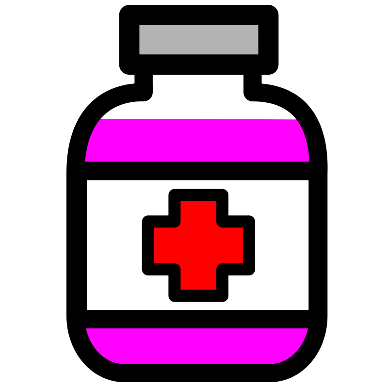 Germs clipart medicine. Free pill bottle download