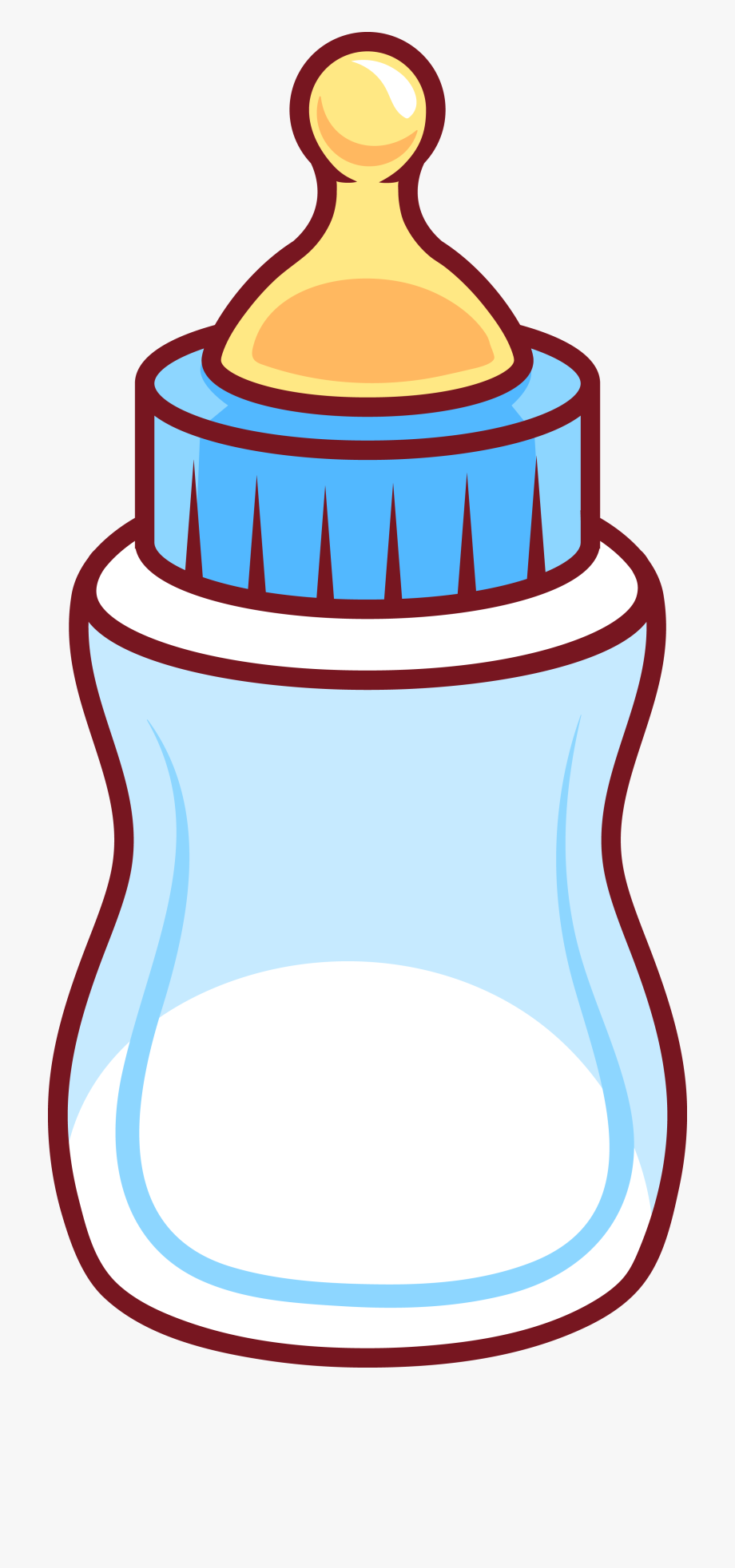 Child infant clip art. Bottle clipart milk bottle