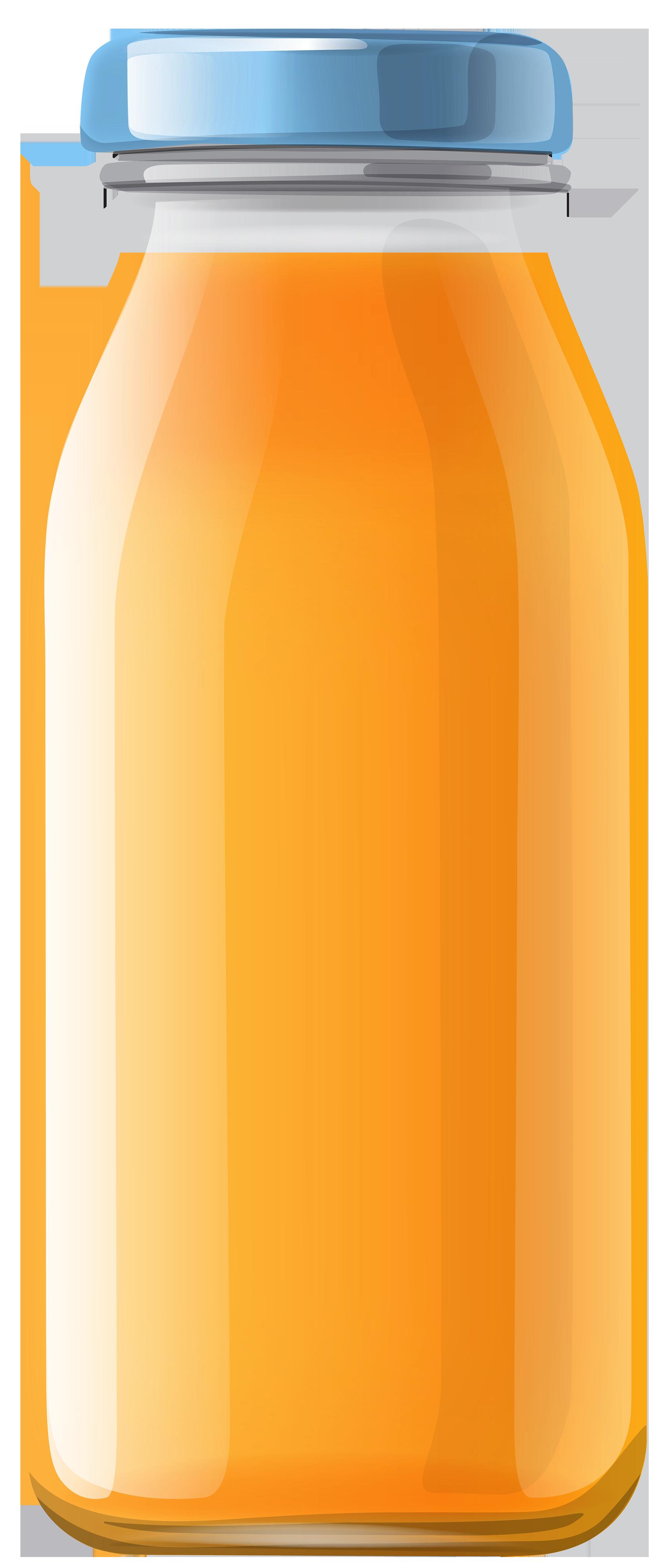 Bottle clipart plain. Orange juice png best