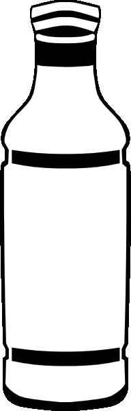 Bottle clipart plain. Plastic clip art at