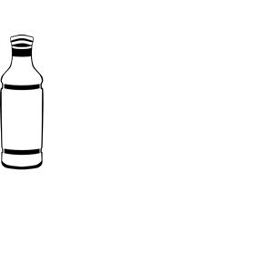 Bottle clipart plain. Plastic cliparts of