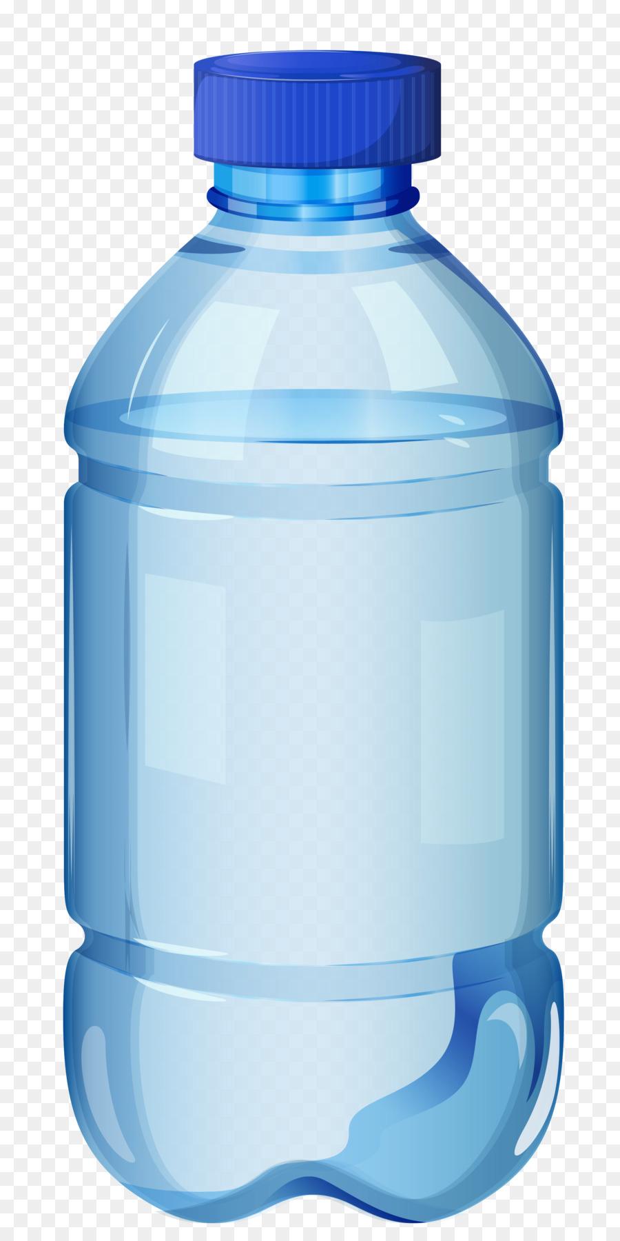Plastic bottle product transparent. Water clipart bottled