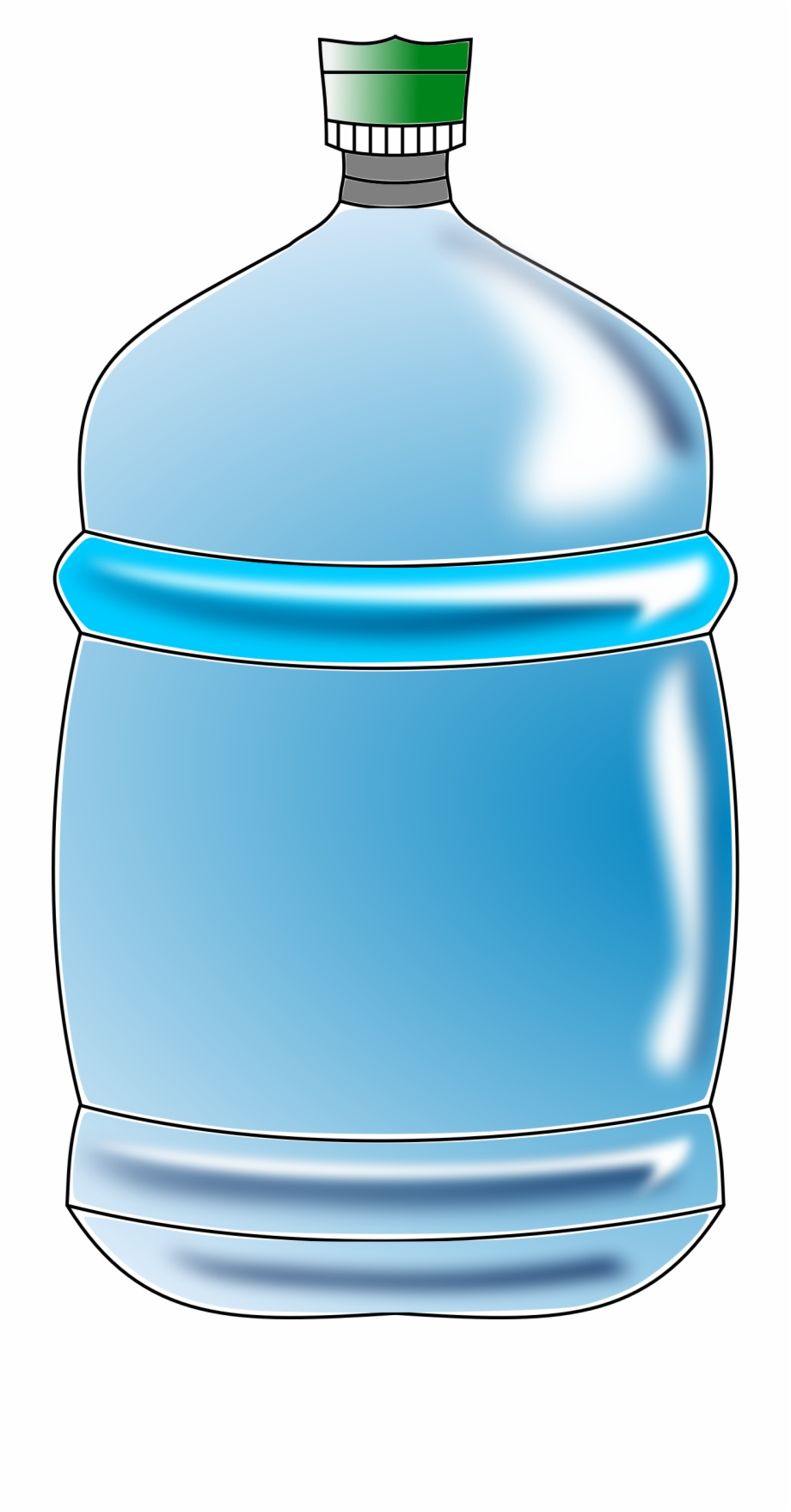 Water bottles to free. Bottle clipart printable