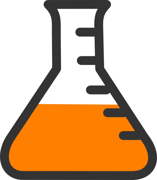 Lab clip art at. Clipart science bottle