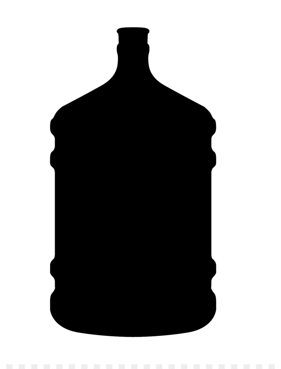 Bottle clipart silhouette. Water at getdrawings com