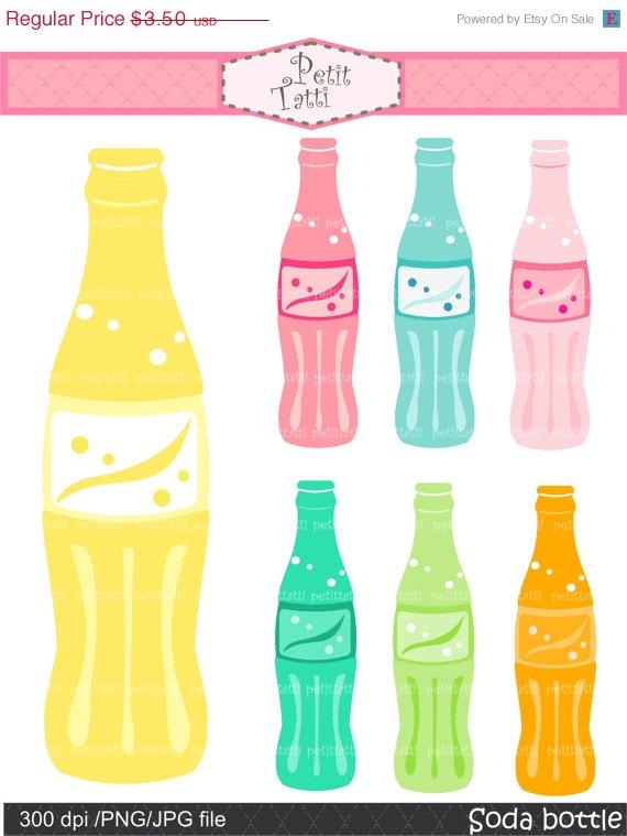 Bottle clipart soda bottle. On sale pop clip