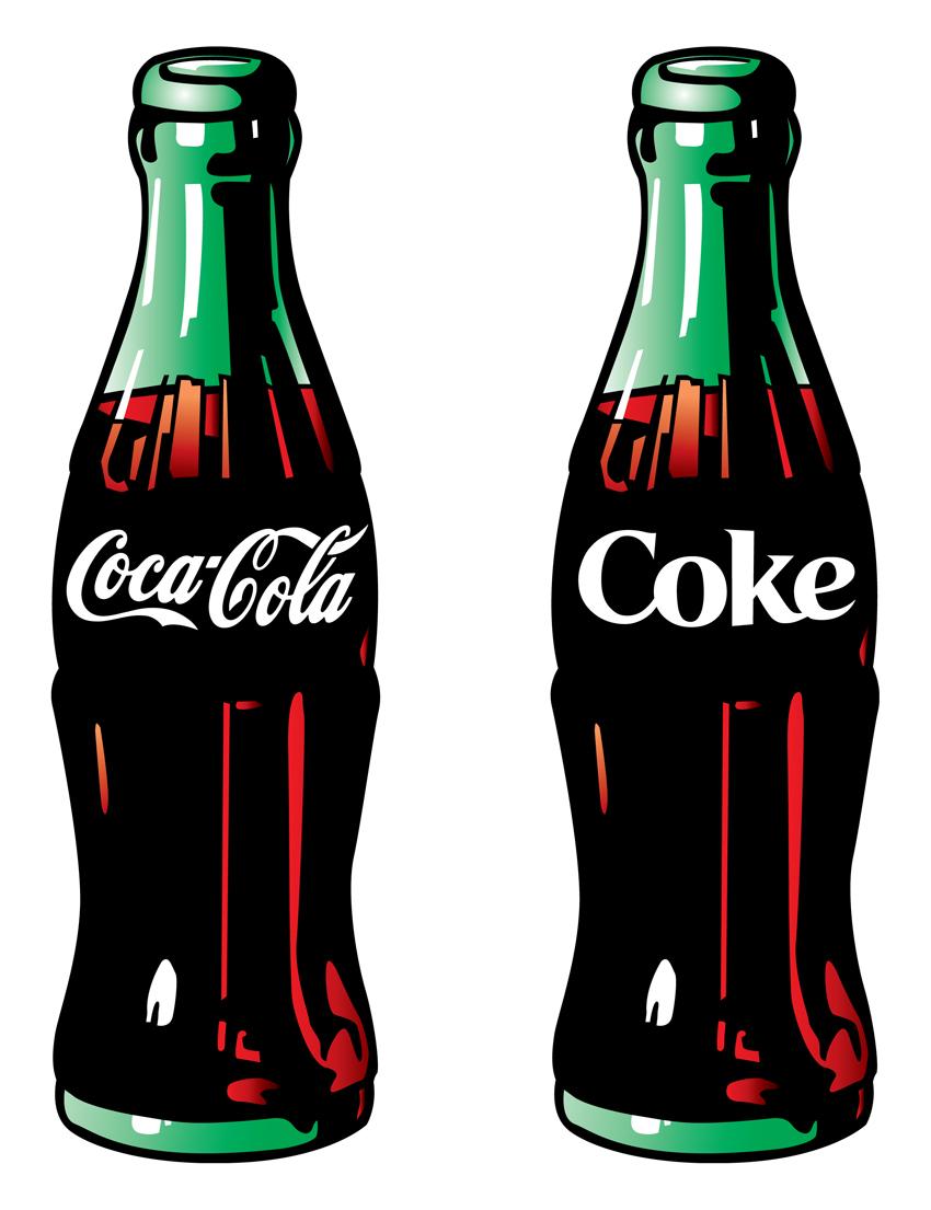 Can . Bottle clipart soda bottle