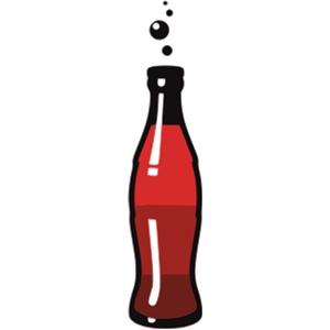 Letters panda free images. Bottle clipart soda bottle