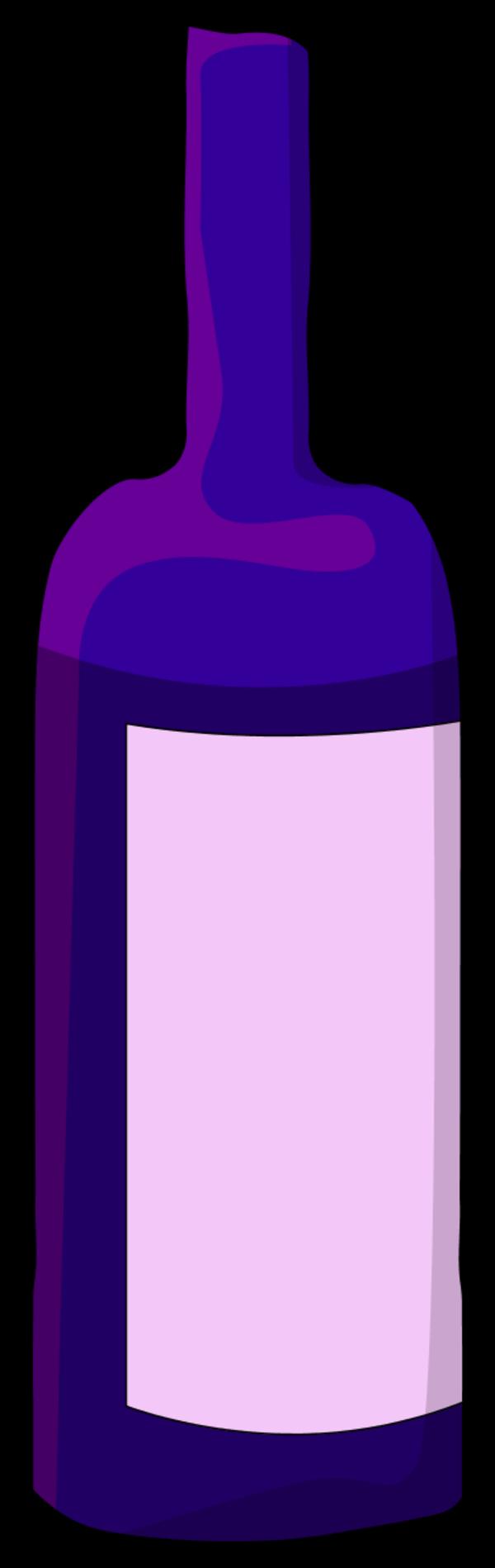 Drinking clipart bottleclip. Wine bottle silhouette clip