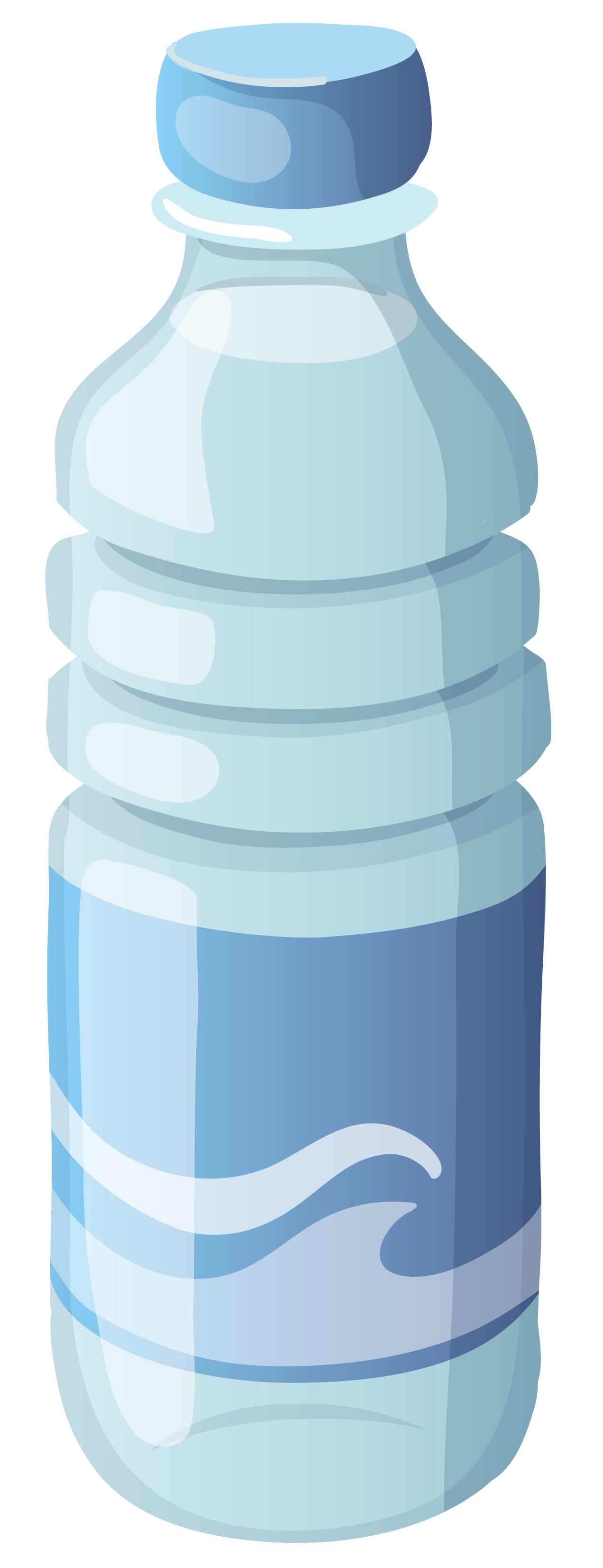 Small mineral clipart image. Water bottle png