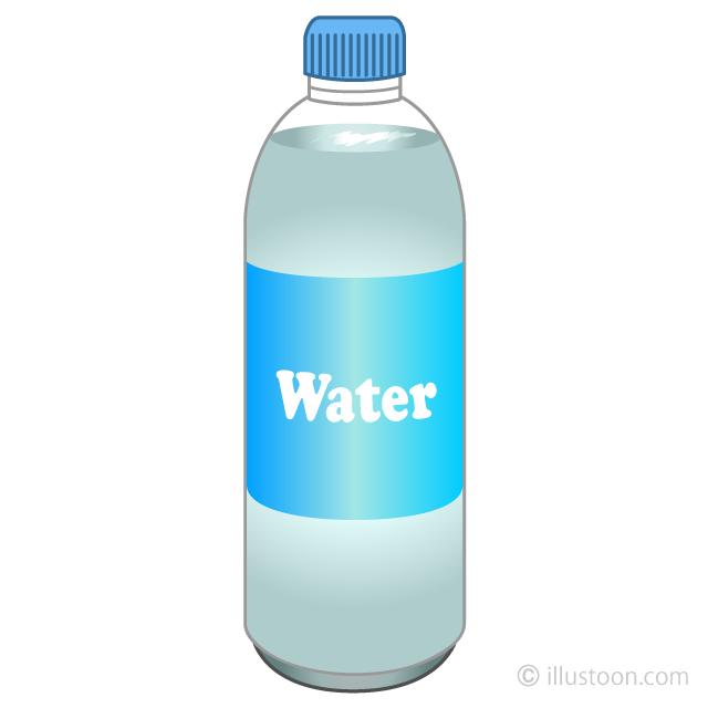 Free picture illustoon . Bottle clipart water bottle
