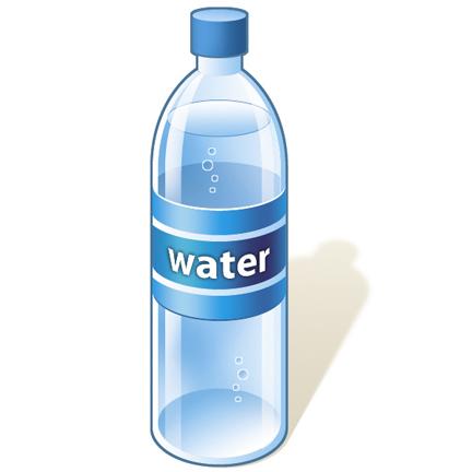 Free . Bottle clipart water bottle