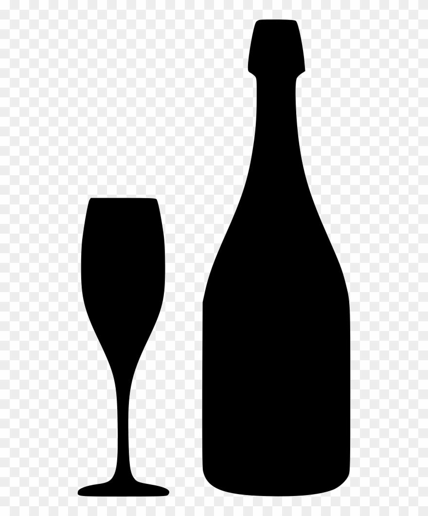 Download free champagne svg. Bottle clipart wine bottle