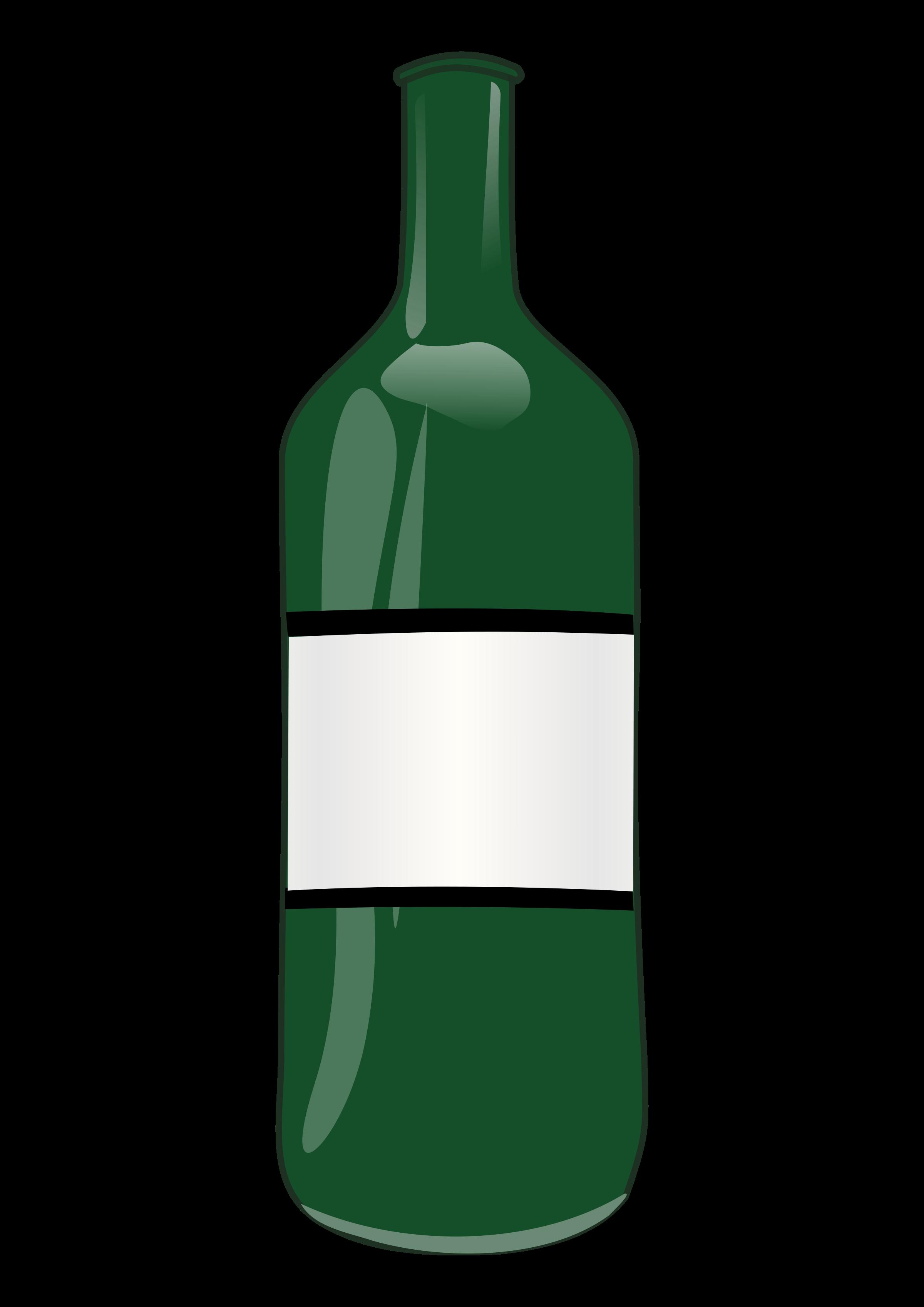 . Bottle clipart wine bottle