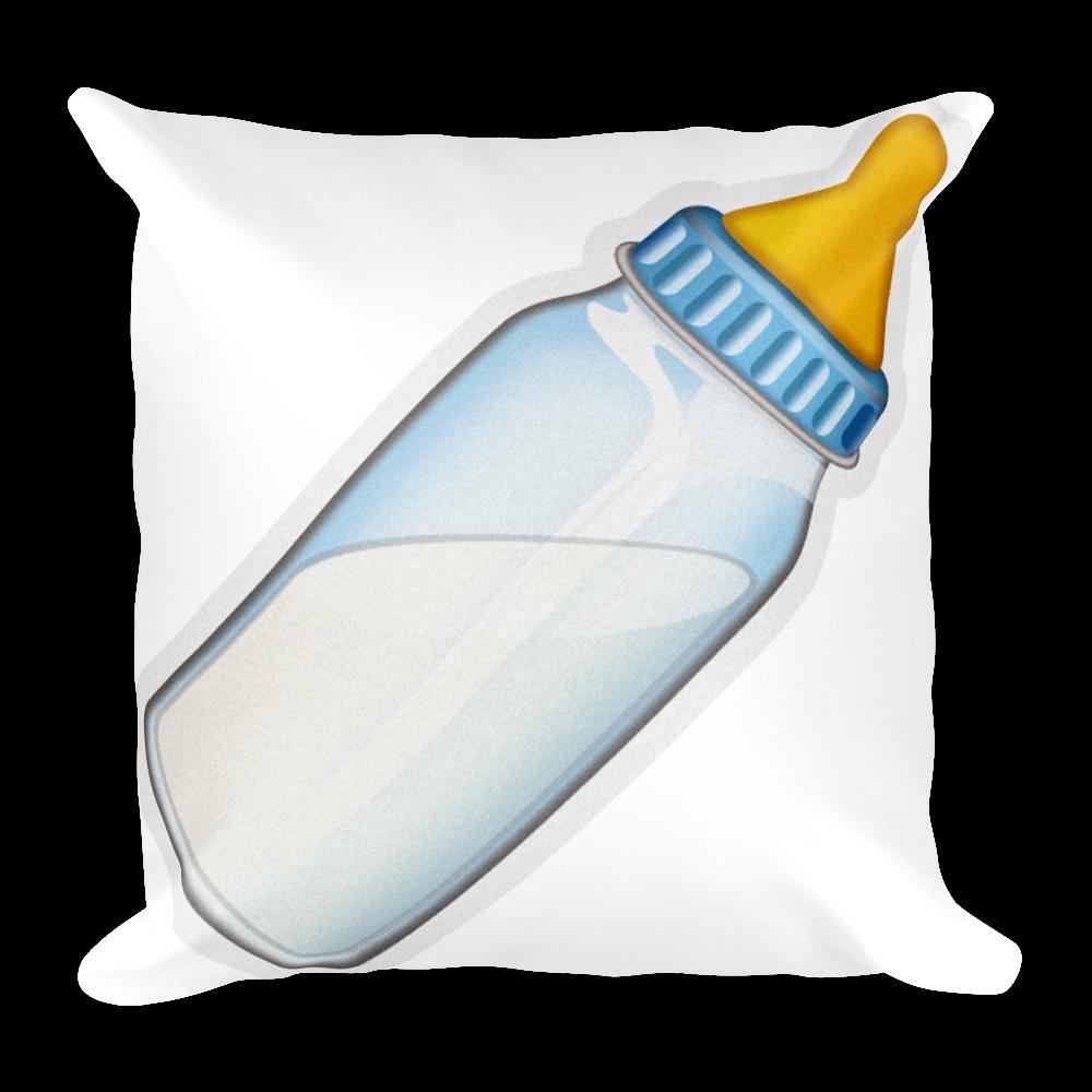 Pillow baby just. Bottle emoji png