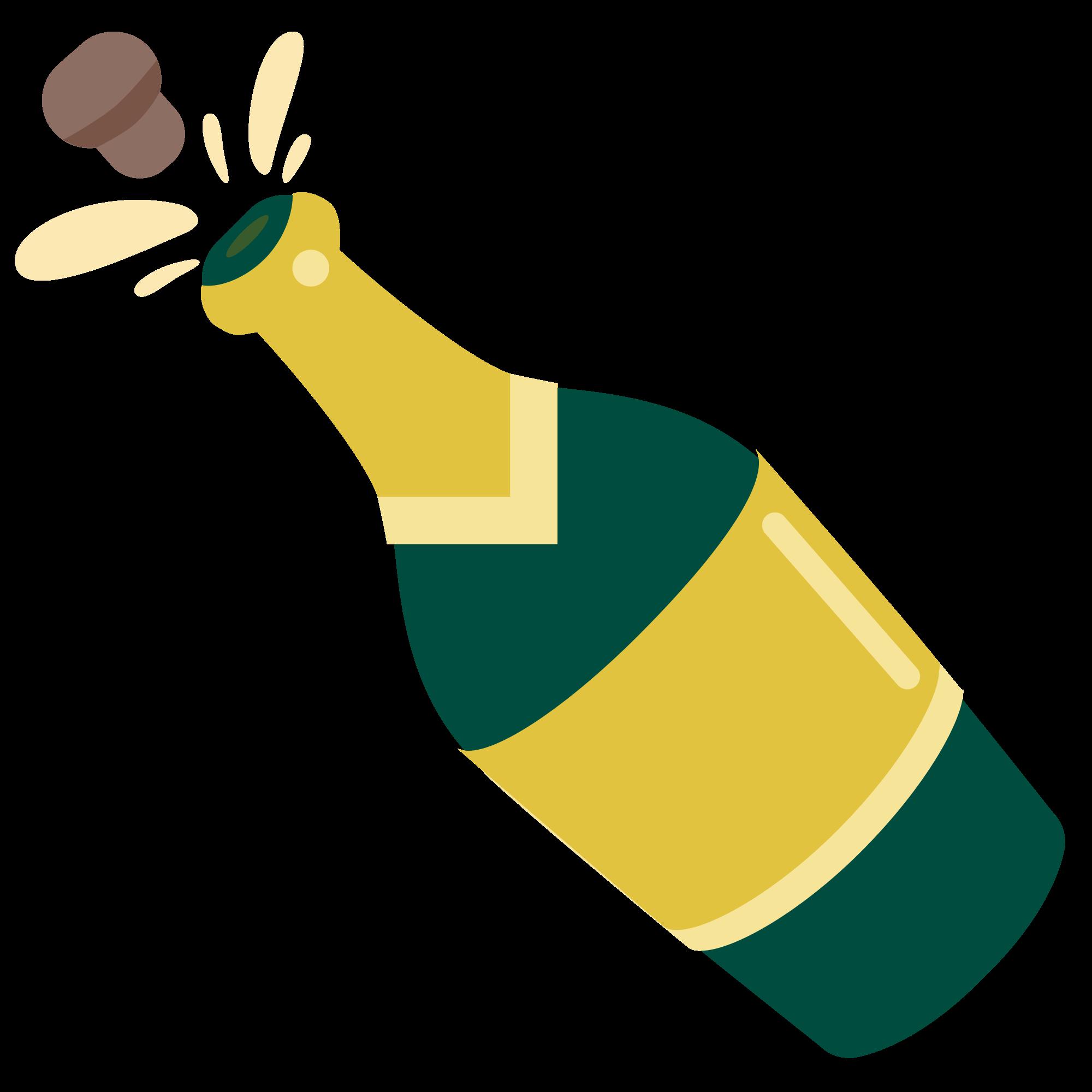 File u f e. Bottle emoji png