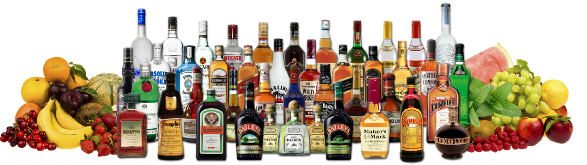 Drink menu myth nightclub. Bottle service png