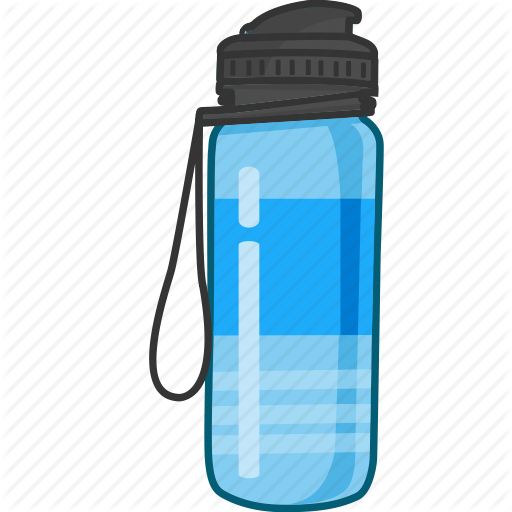 Bottle water png. Colored by nimblechapps drink
